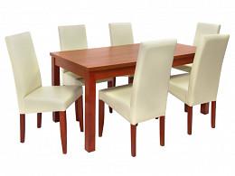 ebédlőasztal székekkel