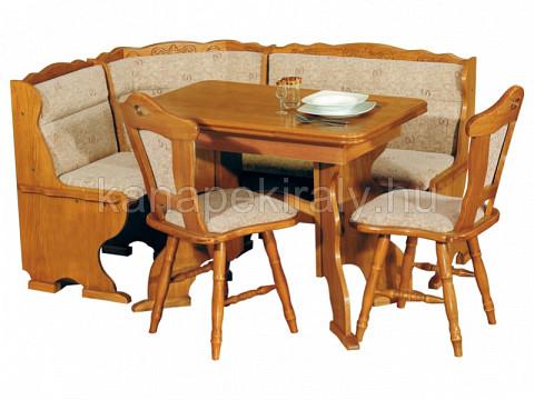 Spandau Classic nagyobbítható sarok étkezőgarnitúra - Kanapékirály.hu