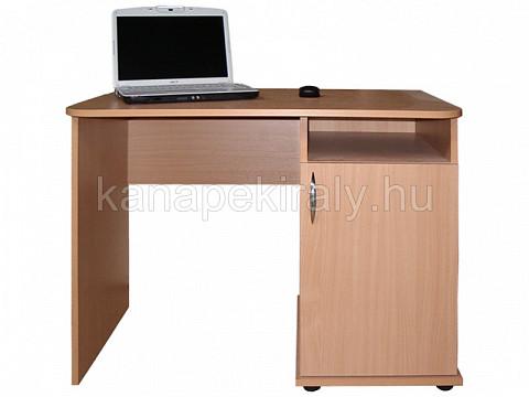 1 ajtós íróasztal jobbos, bükk RKT36295 Kanapékirály.hu