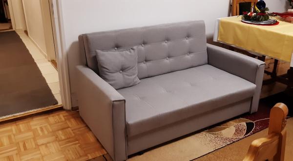 Bandai ülőgarnitúra fotellel és ágyneműtartóval, relax